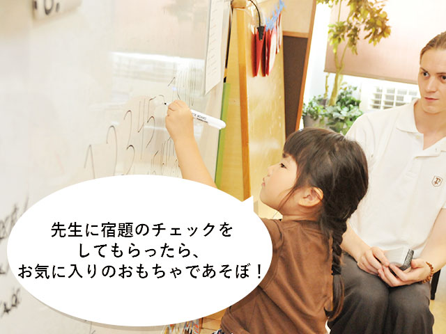 ①Home work time / Free play time 15:25~